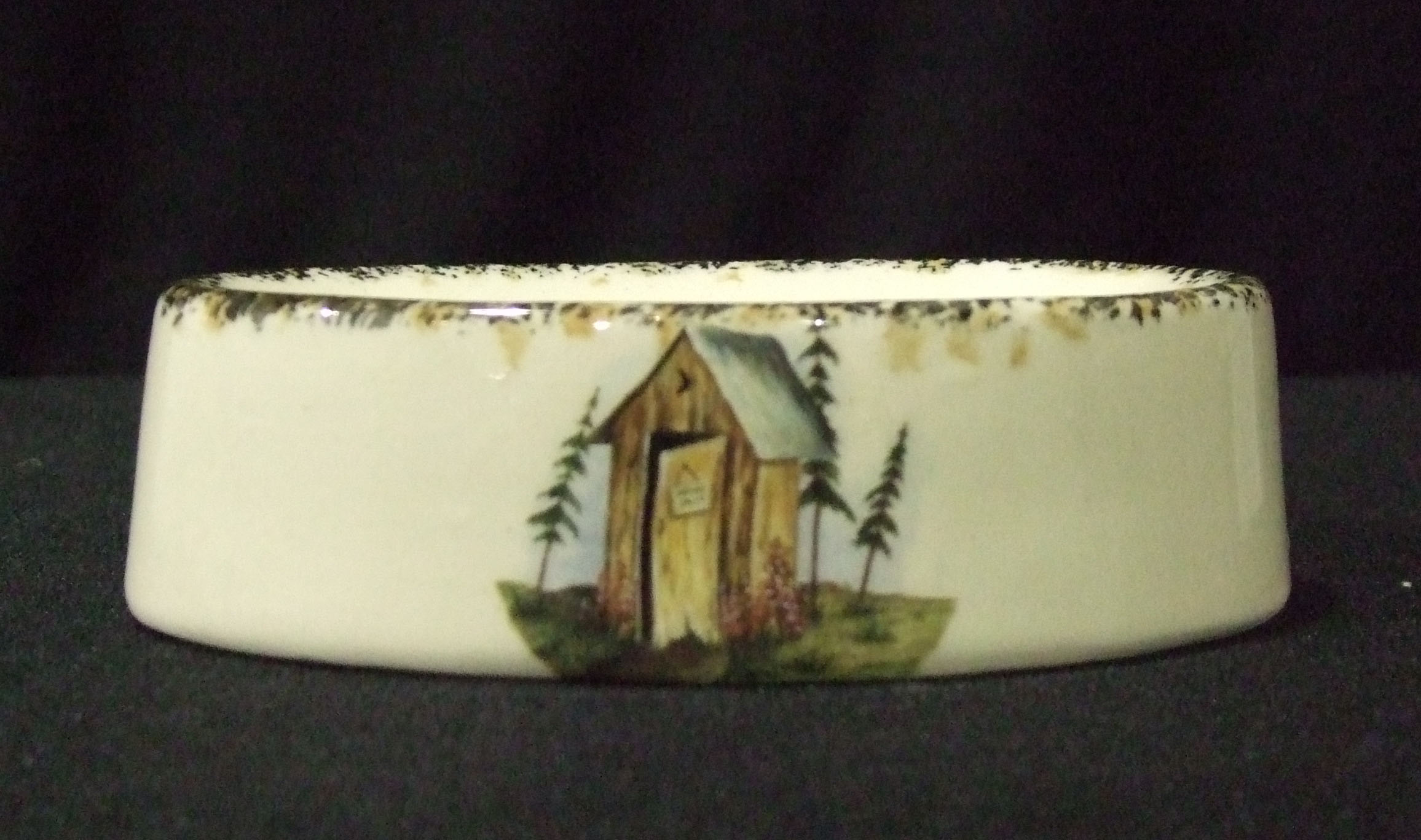soap dish, booth style, pottery, ceramics, kitchen, bathroom