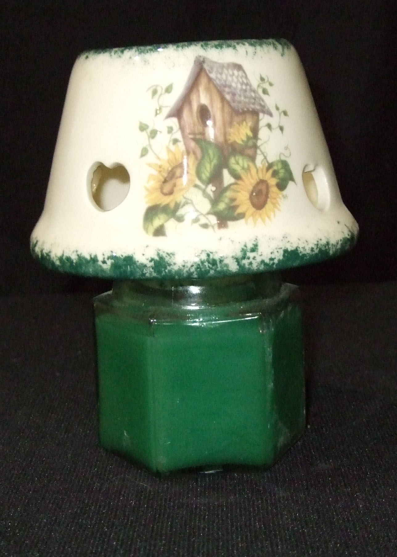 candle shade, candles, apothecary, jar, pottery