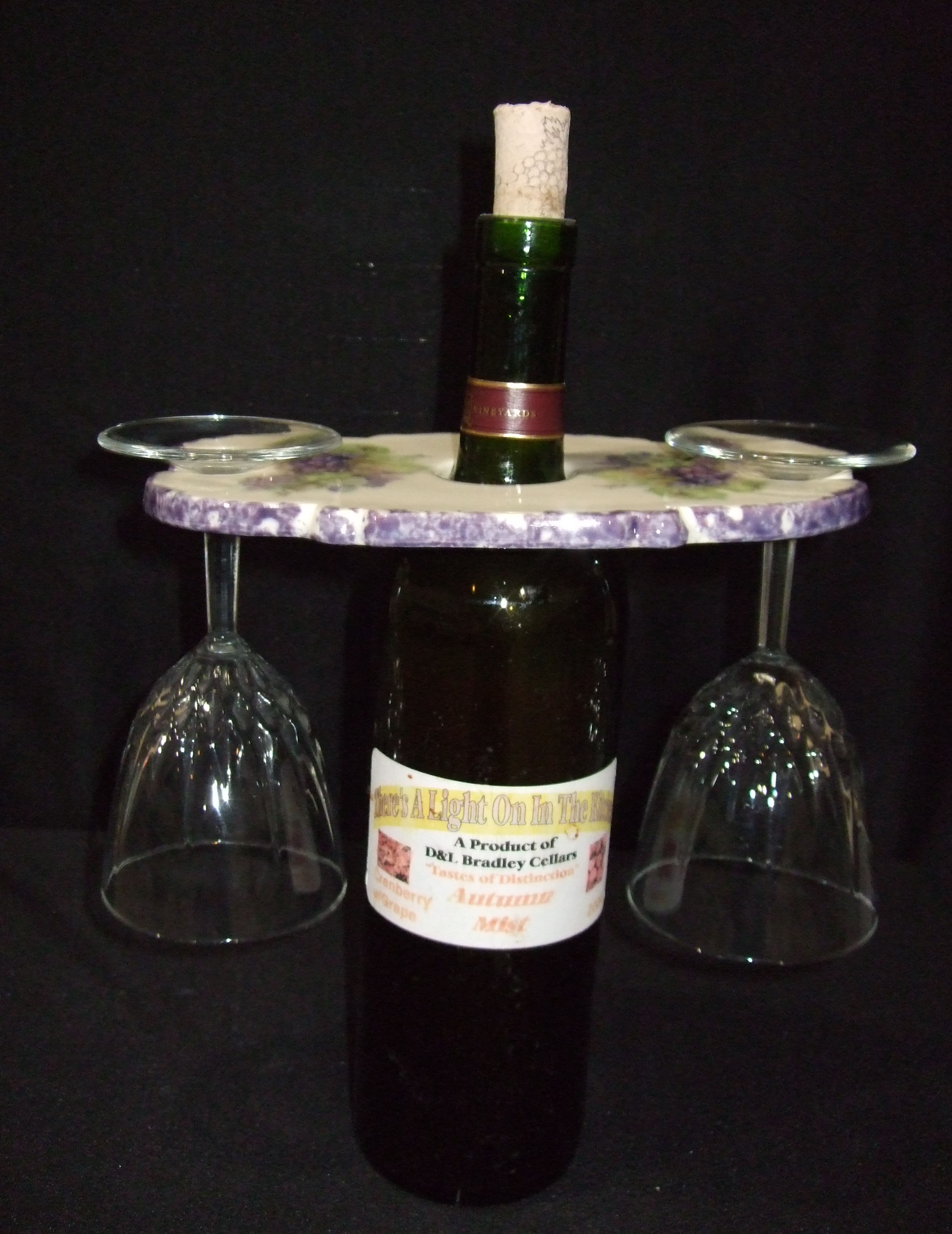 wine keeper, specialty product, ceramics, pottery, Hobby Farm, grapes, wine